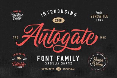 Autogate Font Duo