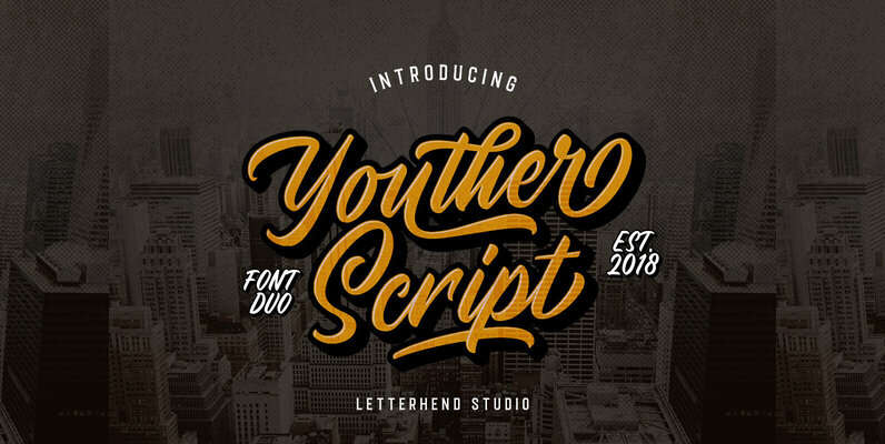 Youther Font Duo