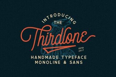 Thirdlone Font Duo