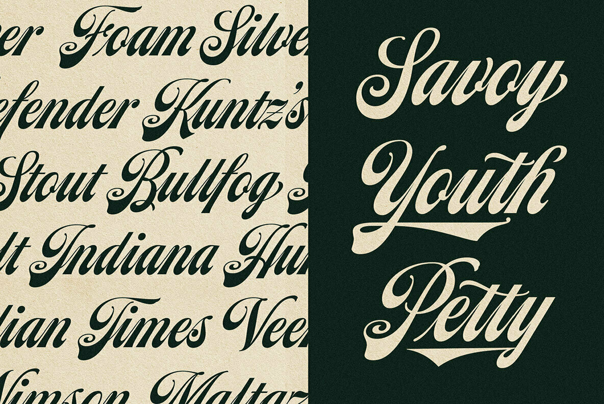 Moister Font Collection