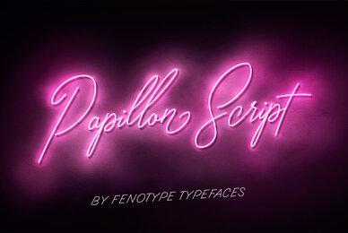 Papillon Script