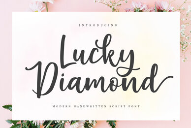 Lucky Diamond Script