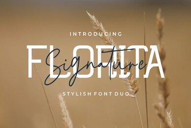 Florita   Font Duo