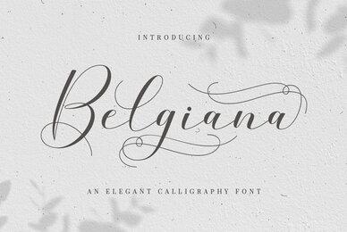 Belgiana Script