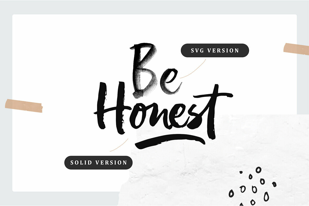 Pastelle SVG Font