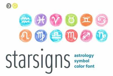Starsigns Color SVG