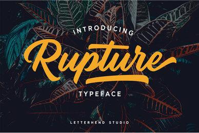 Rupture Font Duo