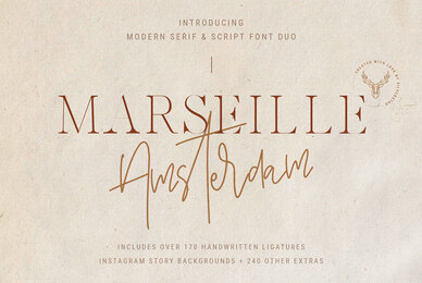 Marseille Amsterdam Font Duo
