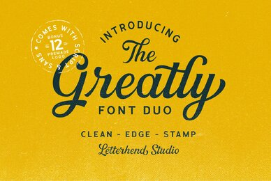 Greatly Font Duo