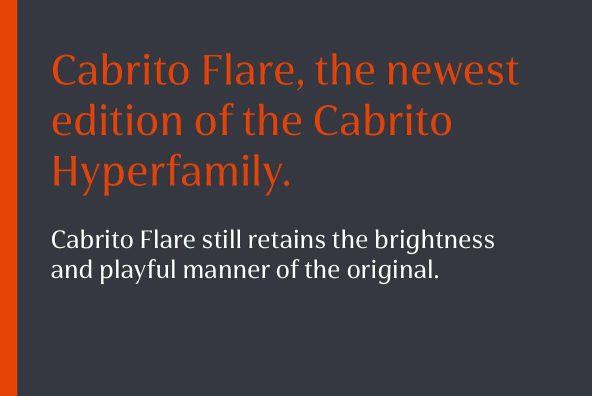 Cabrito Flare
