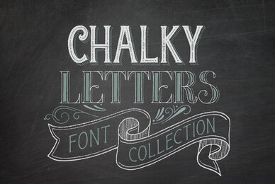 Chalky Letters