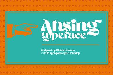 Ahsing