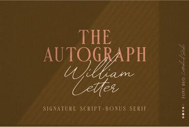 William Letter Font Duo