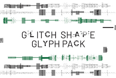 Glitch Shape Pack