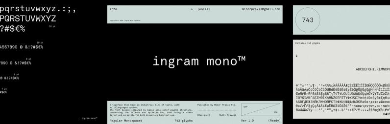 Ingram Mono