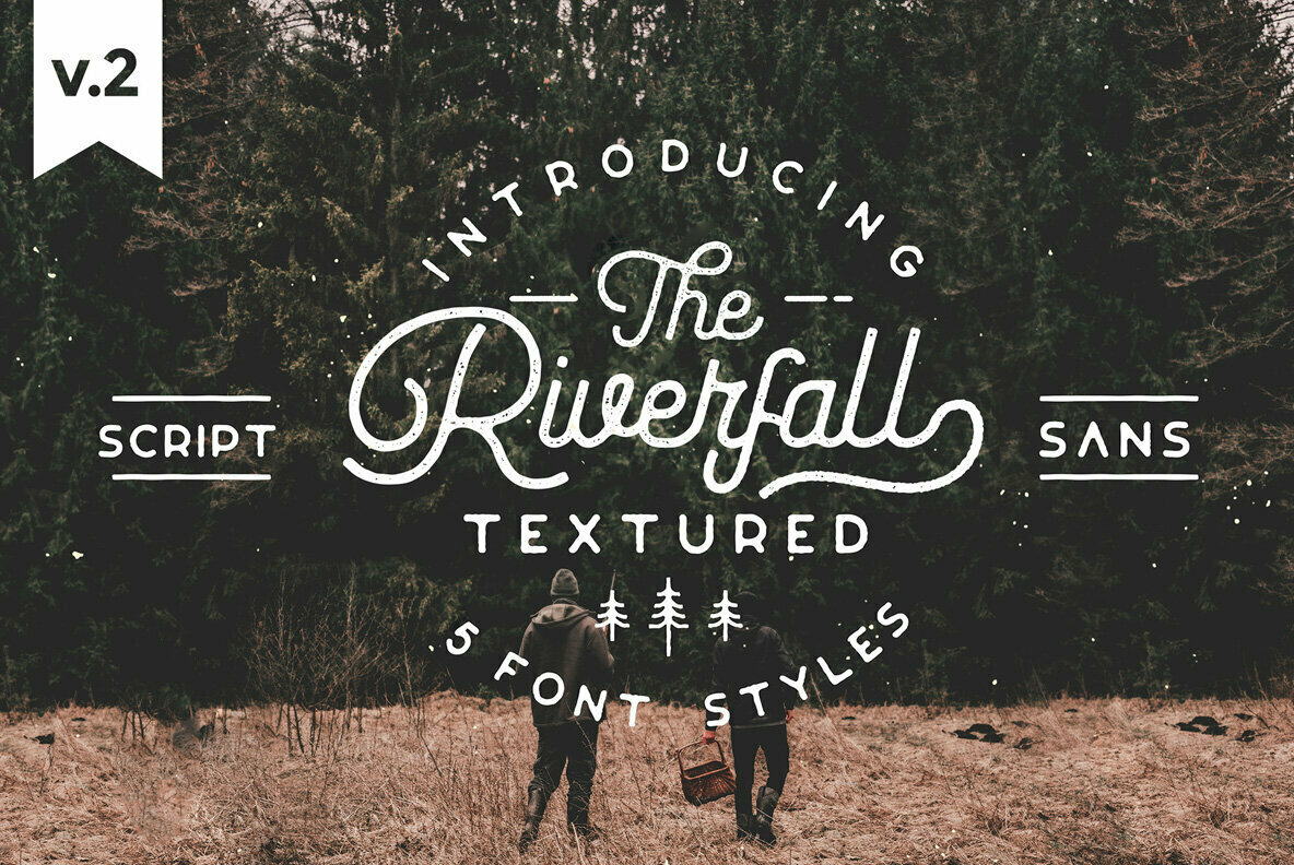 Riverfall Semi Rounded Textured