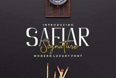 Safiar Font Duo