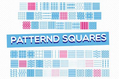 Patternd Squares