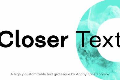 Closer Text
