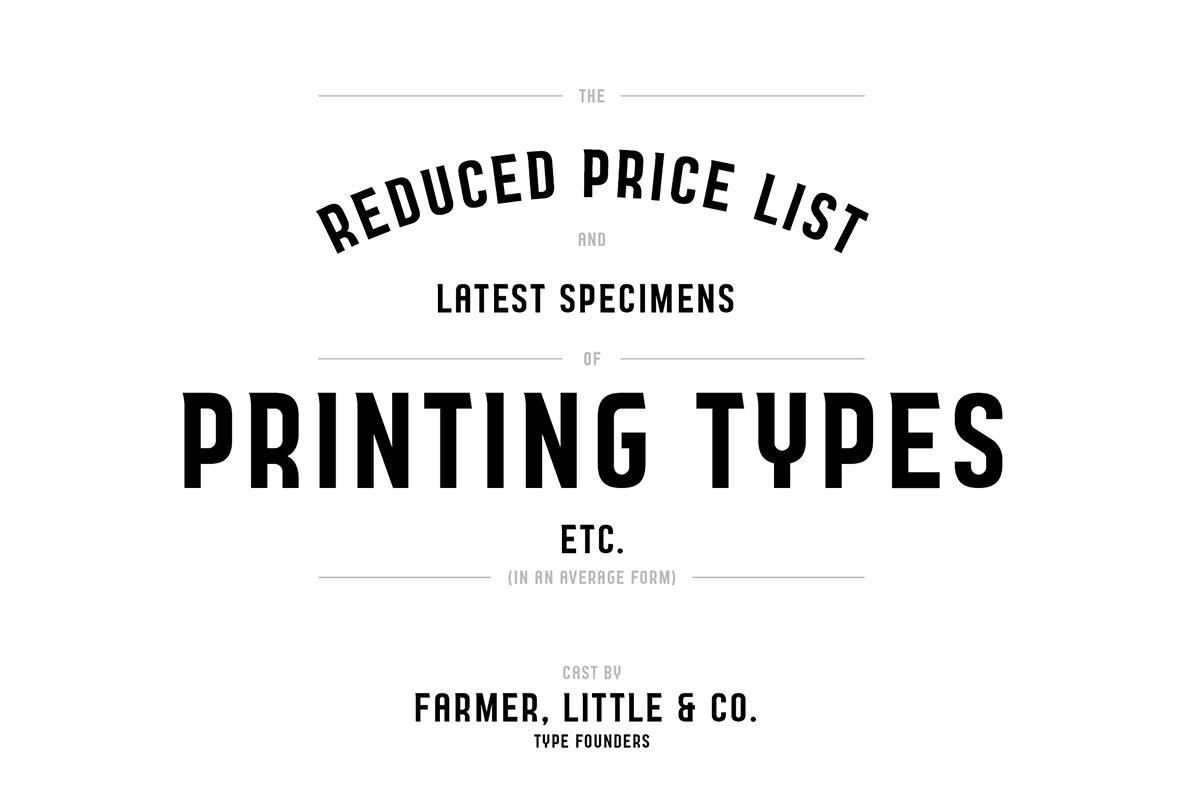 Nailhead Typeface