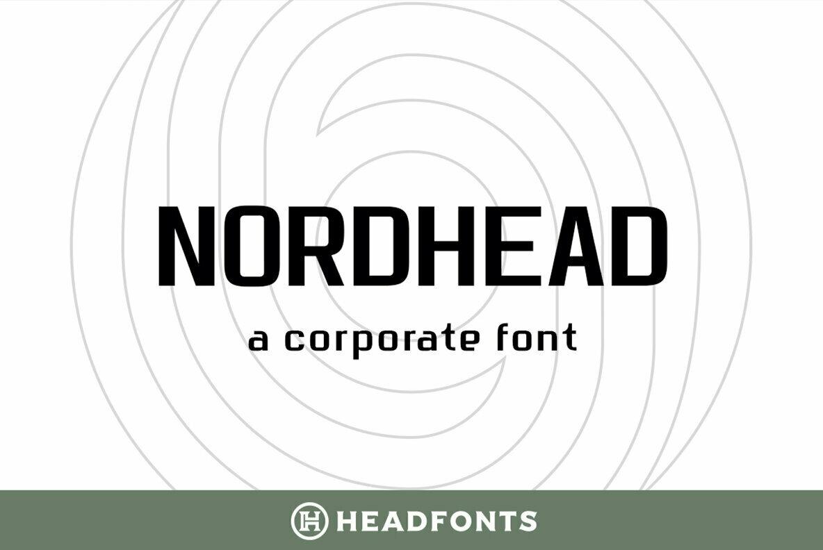 Nordhead Typeface