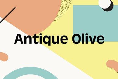 Antique Olive