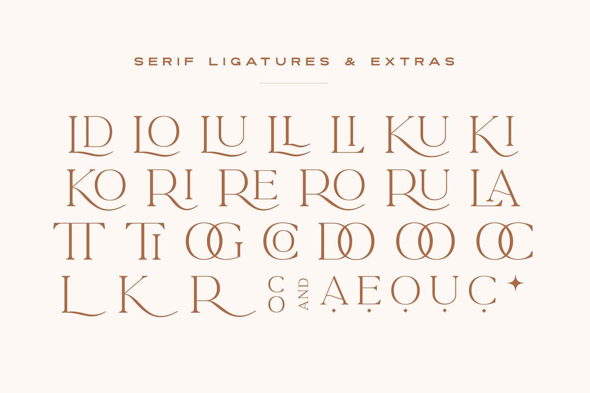 La Luxes Font Duo