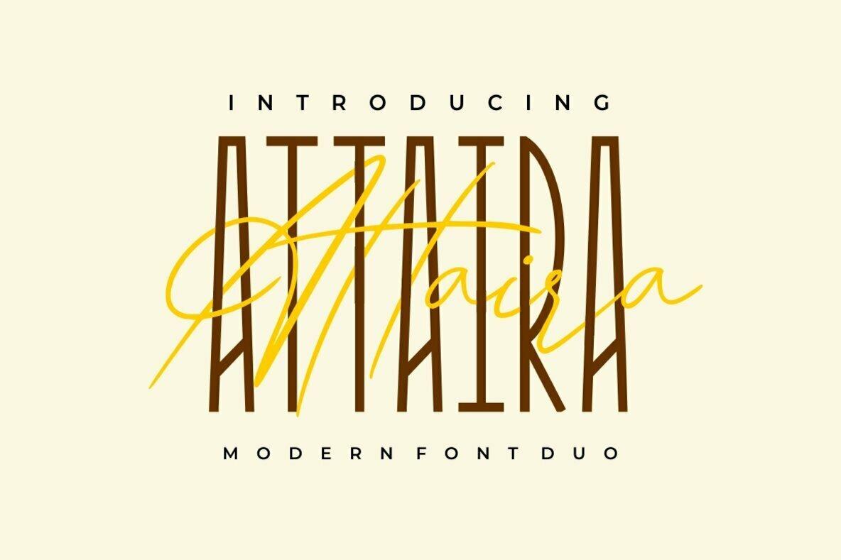 Attaira Font Duo