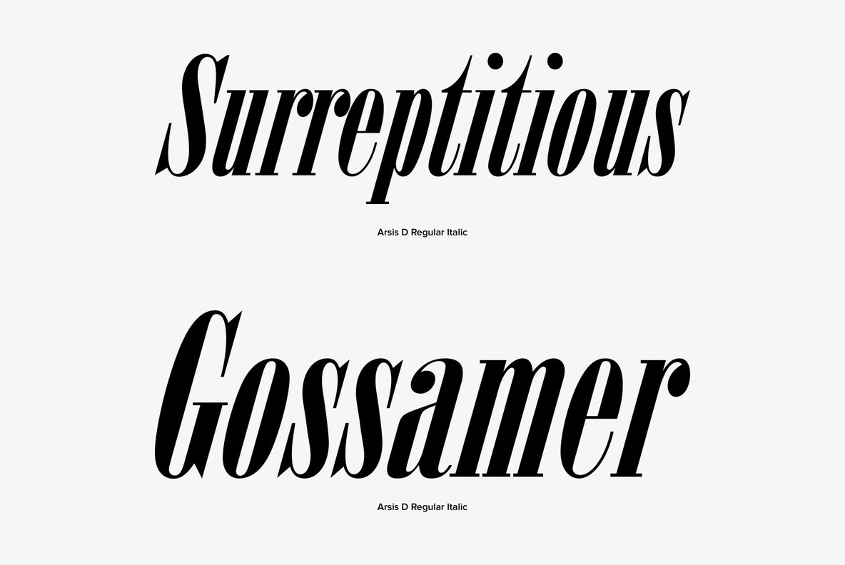Arsis Font Family