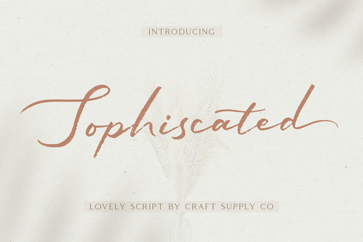 Sophiscated