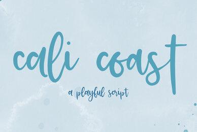 Cali Coast Script