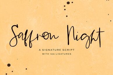 Saffron Night Script