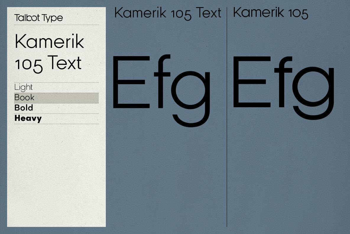Kamerik 105 Text