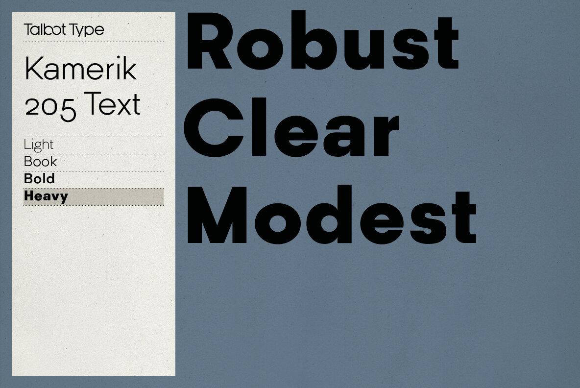 Kamerik 205 Text