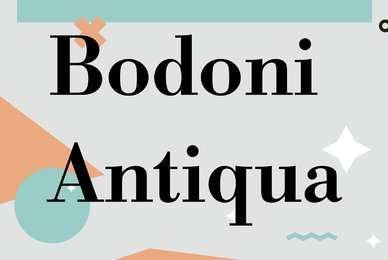 Bodoni Antiqua