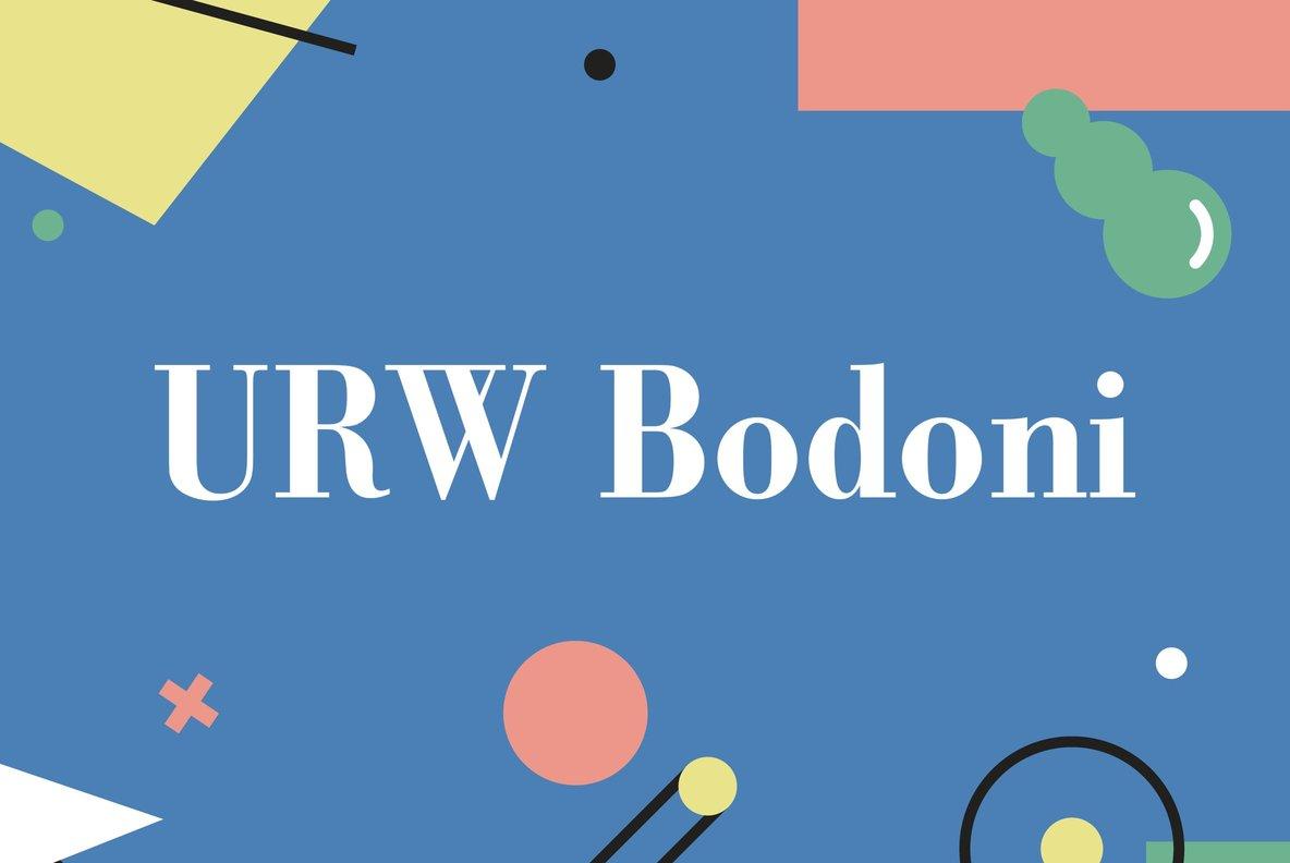 URW Bodoni