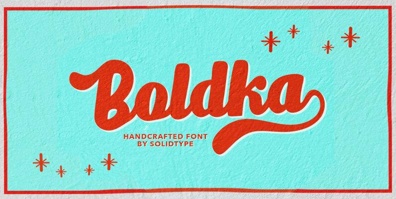 Boldka Script