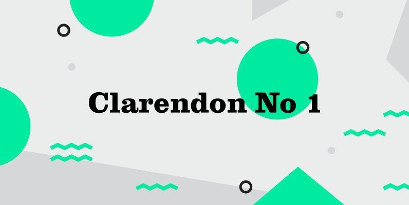 Clarendon No 1