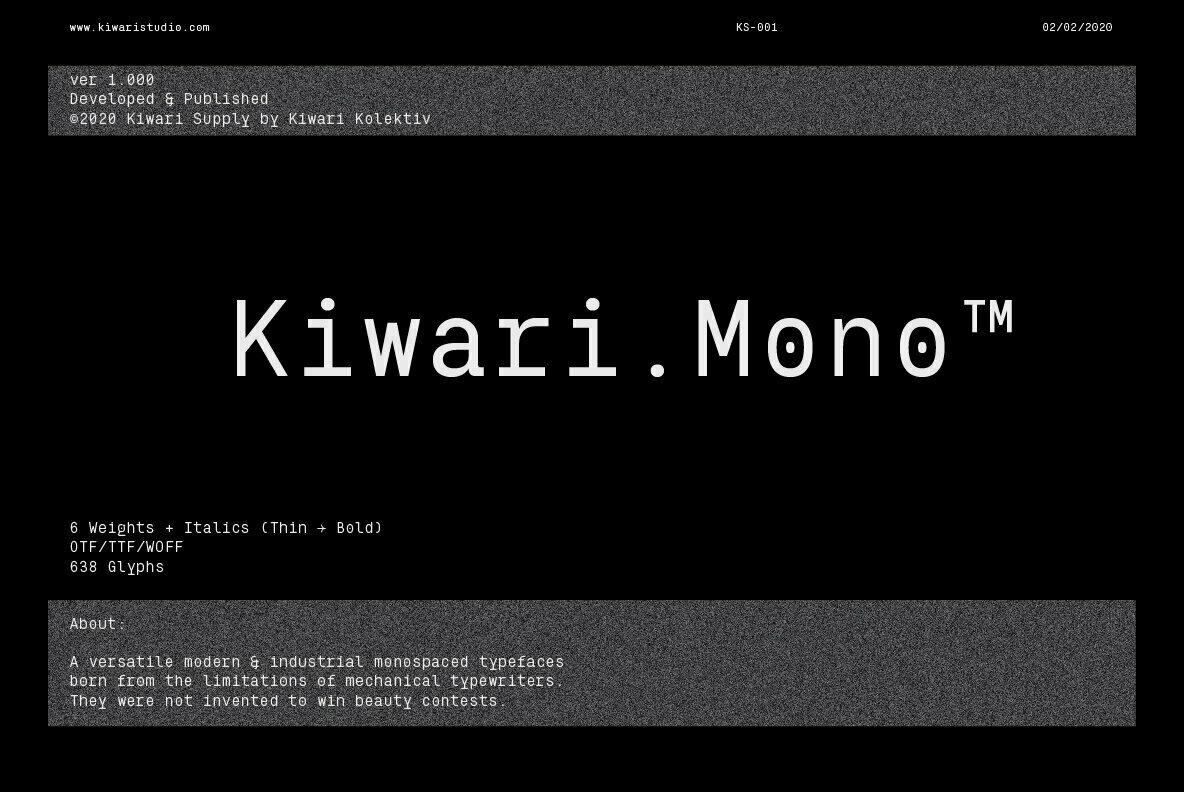 Kiwari Mono