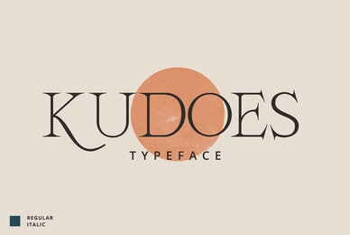 Kudoes Typeface