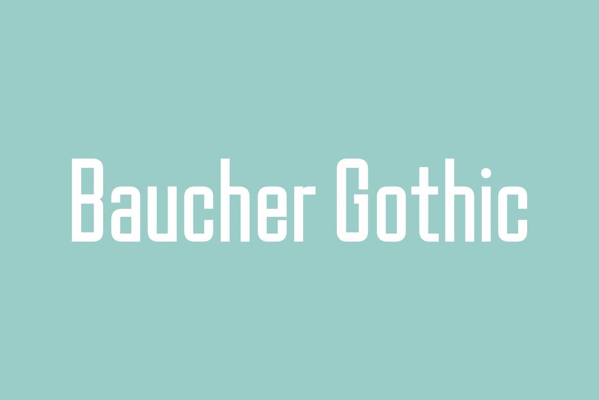 Baucher Gothic