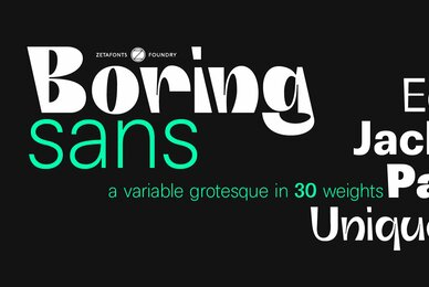 Boring Sans
