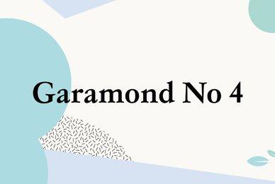 Garamond No 4