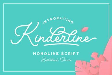 Kinderline Script