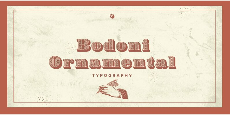 Bodoni Ornamental