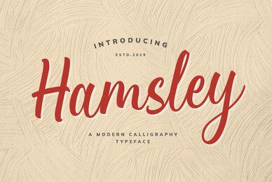 Hamsley Script