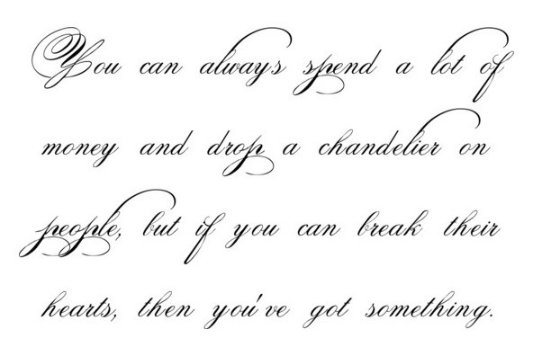 spencerian | Write Analog