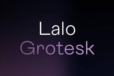 Lalo Grotesk