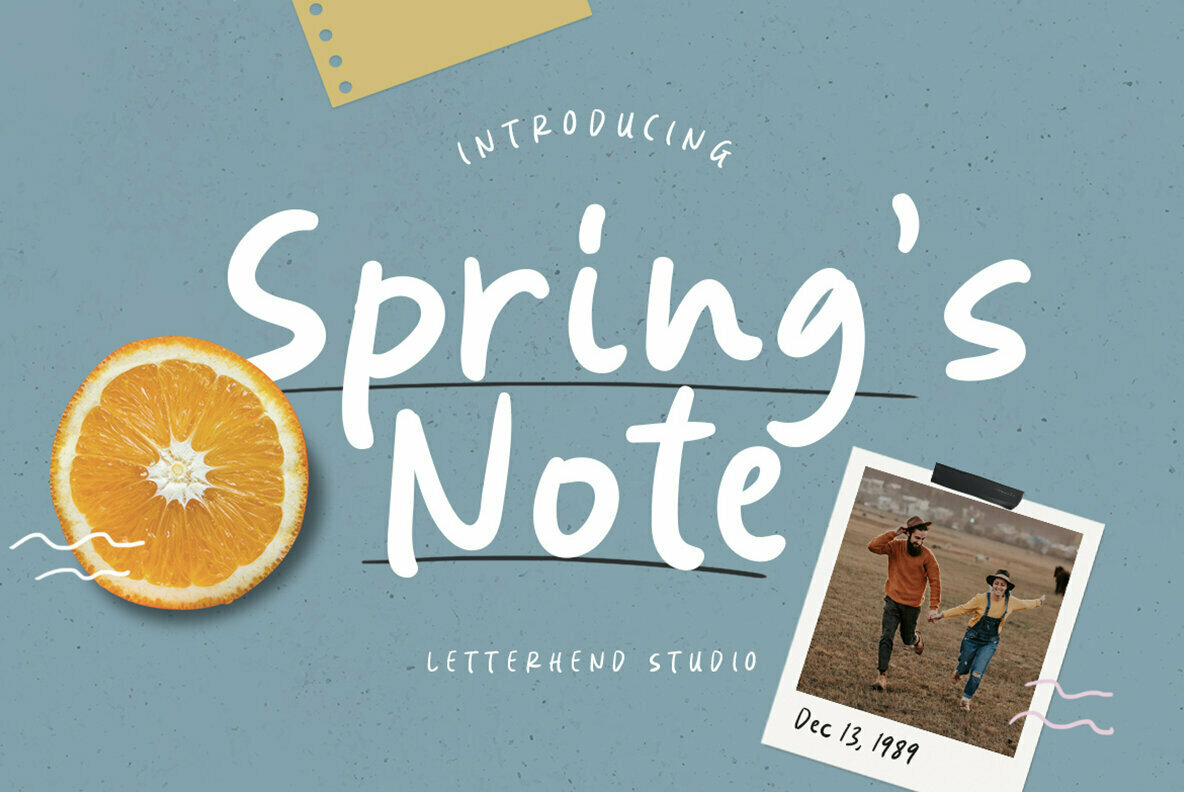 Spring   s Note