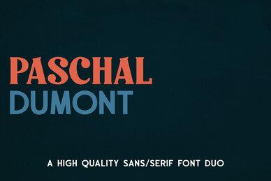 Paschal Dumont Font Duo